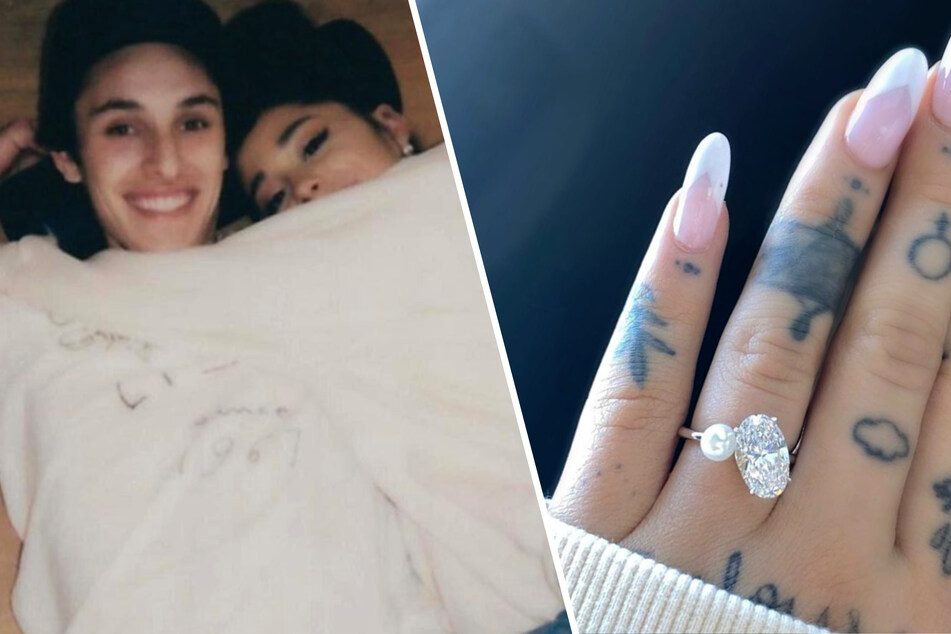 She said yes! Ariana Grande is now happily engaged