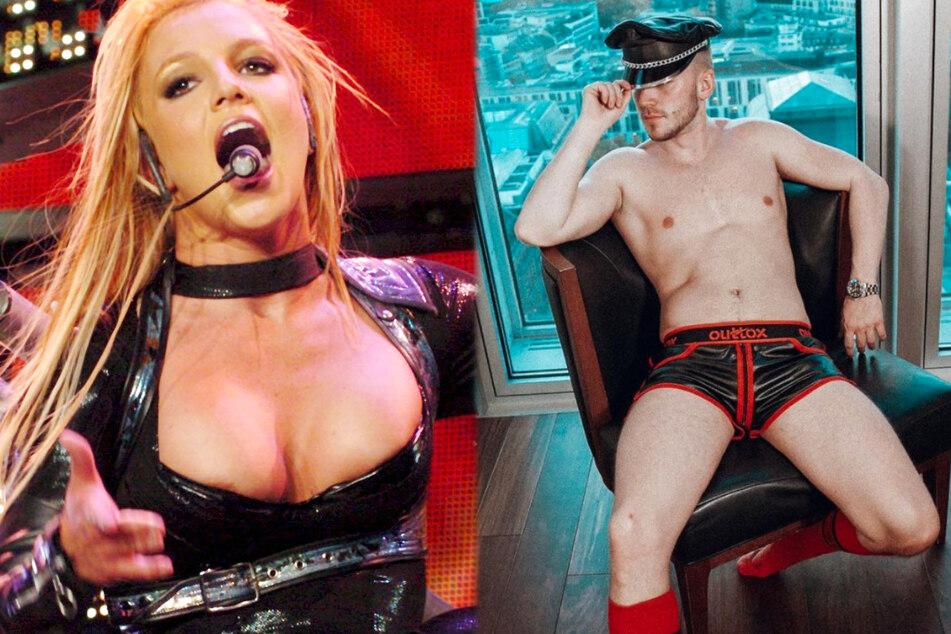 """Pop-Ikone Britney Spears (39) hat für Fetisch-Fan und """"Prince Charming""""-Sieger Lauritz Hofmann (28) eine ganz besondere Bedeutung."""