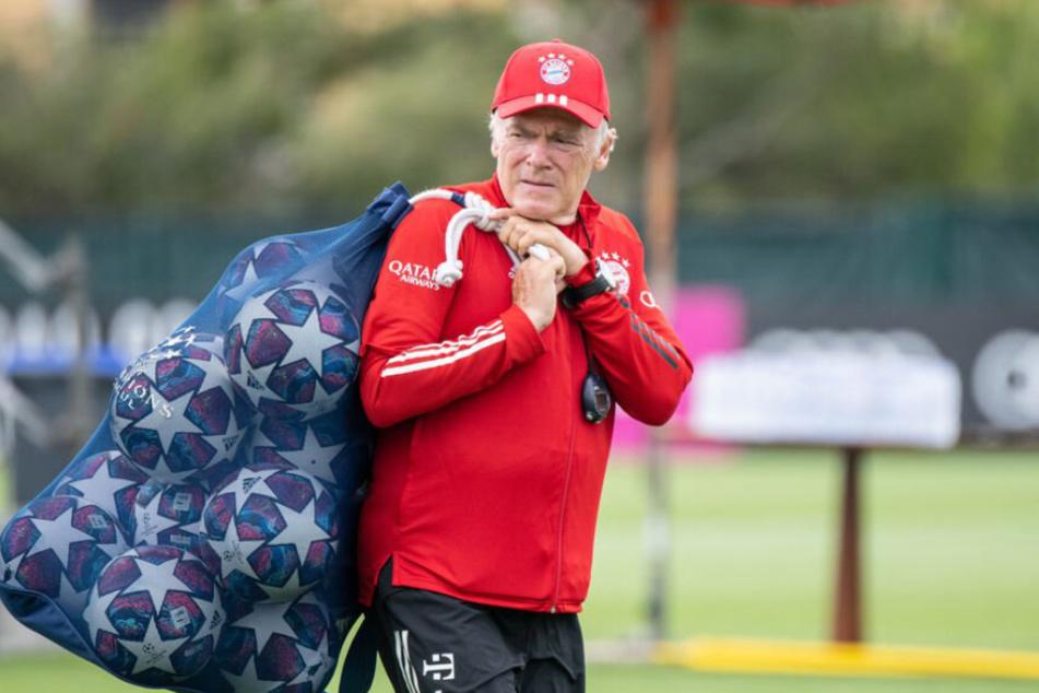 Urgestein Hermann Gerland (66) wird den FC Bayern nach der Saison verlassen.