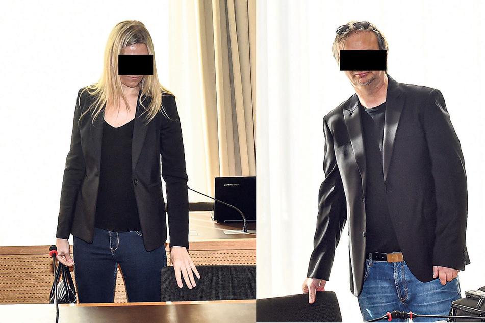 Dr. Lutz L. (51) lebt mit seiner Gattin derzeit in England. Carmen L. (39) soll die mutmaßlichen Betrügereien des Ehemannes gebilligt haben.