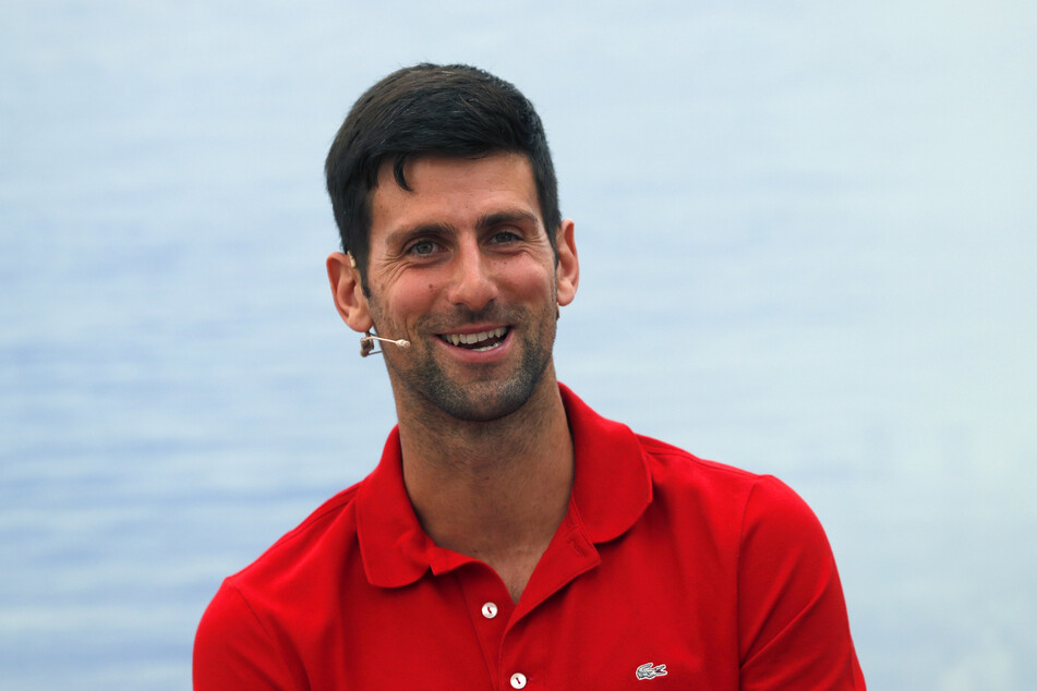 Tennisspieler Novak Djokovic.