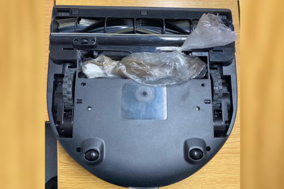 Ungewöhnliches Versteck: Polizei findet Drogen in Saugroboter