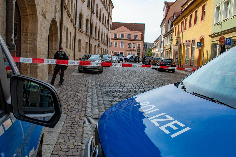 Vor zwei Wochen wurde ein Juwelier in der Döbelner Stadthausstraße überfallen.