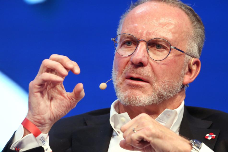 Karl-Heinz Rummenigge hat sich deutlich zu einem möglichen Abbruch der Fußball-Bundesliga geäußert.