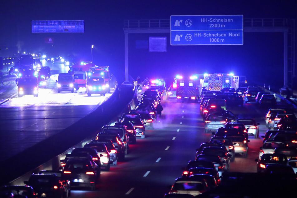 Mehrere Verletzte bei Massencrash auf Autobahn