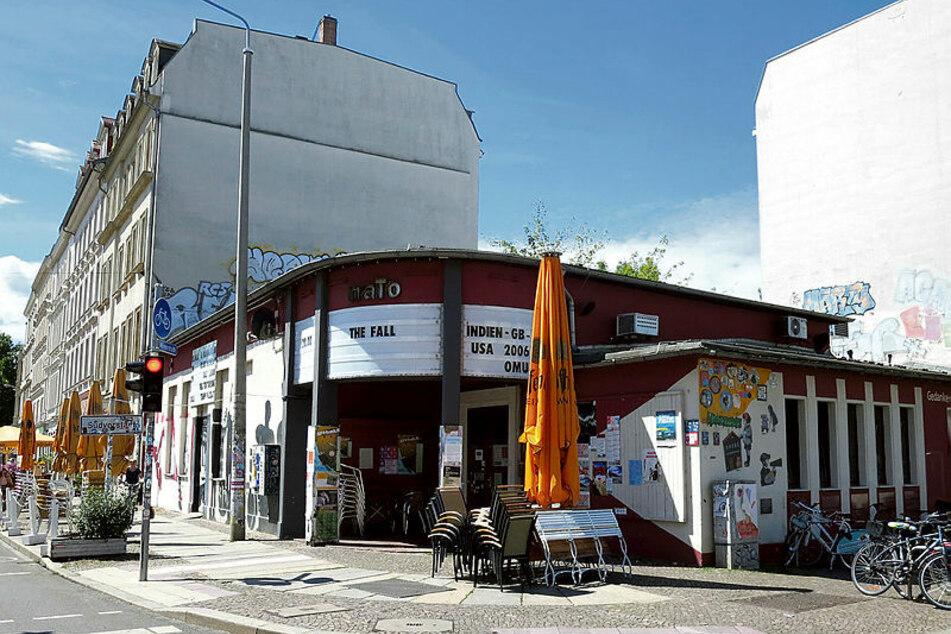 Die Leipziger Kulturkneipe naTo in der Südvorstadt - hier kam es am Sonntagmorgen zum kuriosen Raubversuch.
