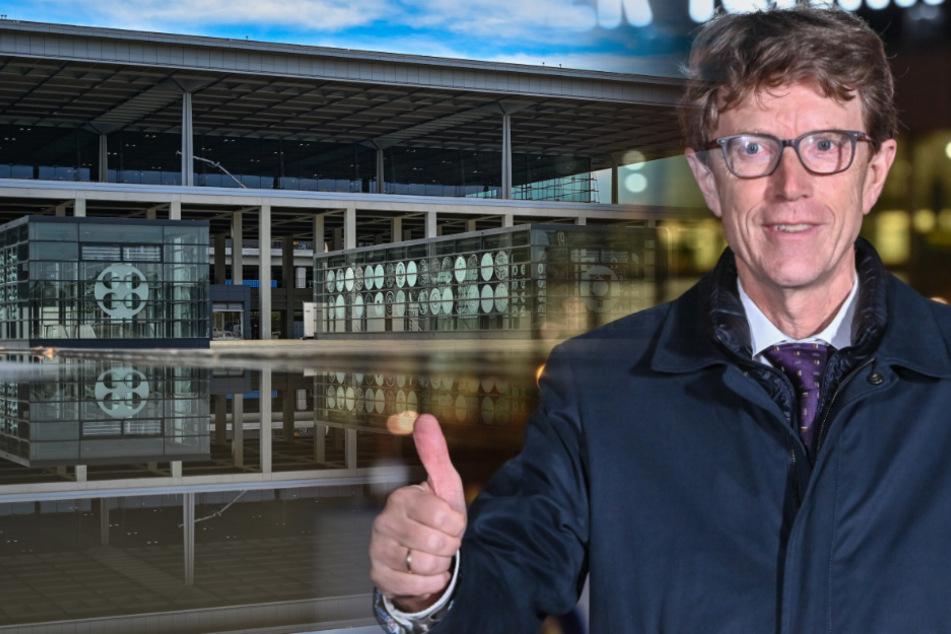 Flughafenchef Engelbert Lütke Daldrup kann den neuen Hauptstadtflughafen endlich eröffnen.