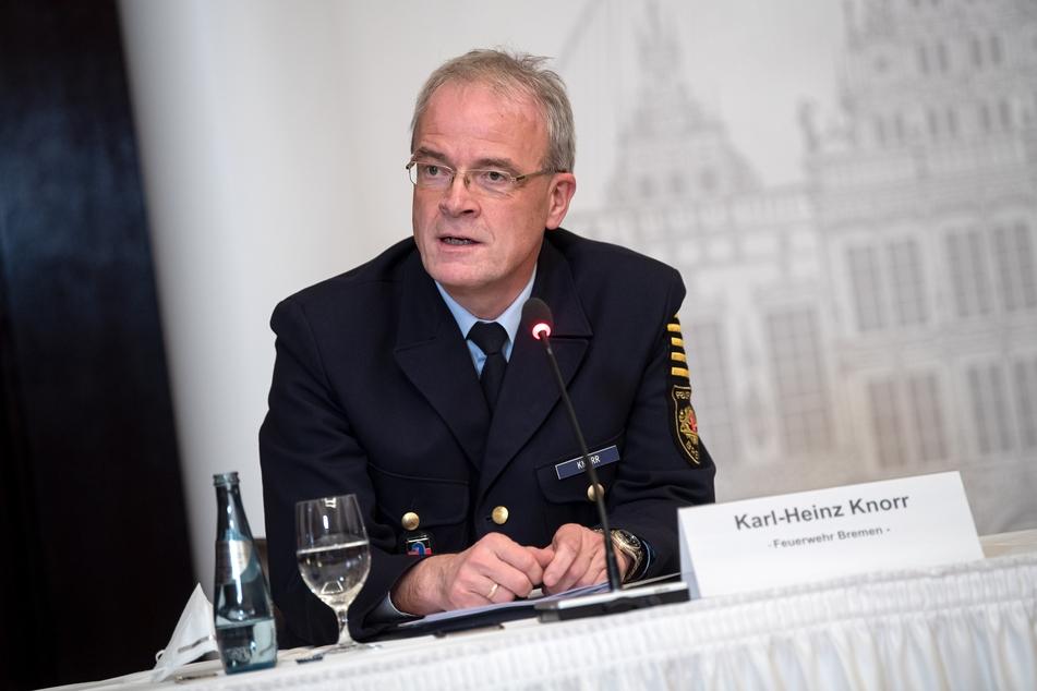 Der Amtsleiter der Feuerwehr Bremen kritisierte, dass die rechtsextremen Chats so lange unentdeckt blieben.