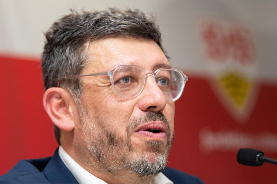 Der Präsident des VfB Stuttgart Claus Vogt.