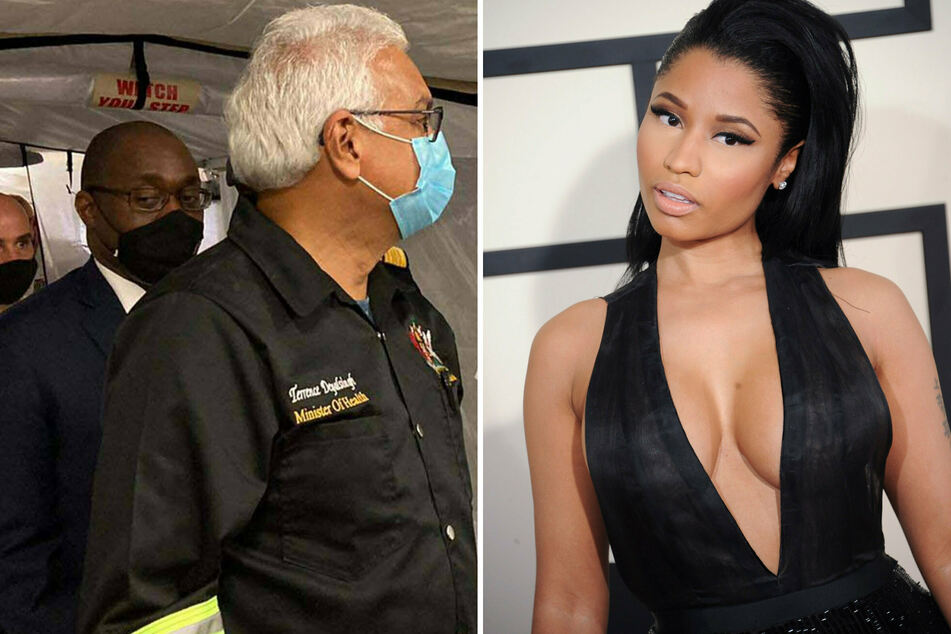 #Ballgate: Trinidad and Tobago health minister blasts Nicki Minaj for Covid-19 vaccine story