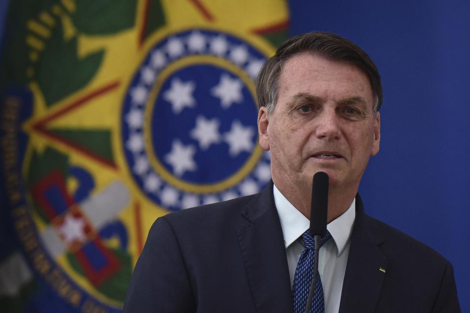 Jair Bolsonaro (65), Präsident von Brasilien. (Archivbild)