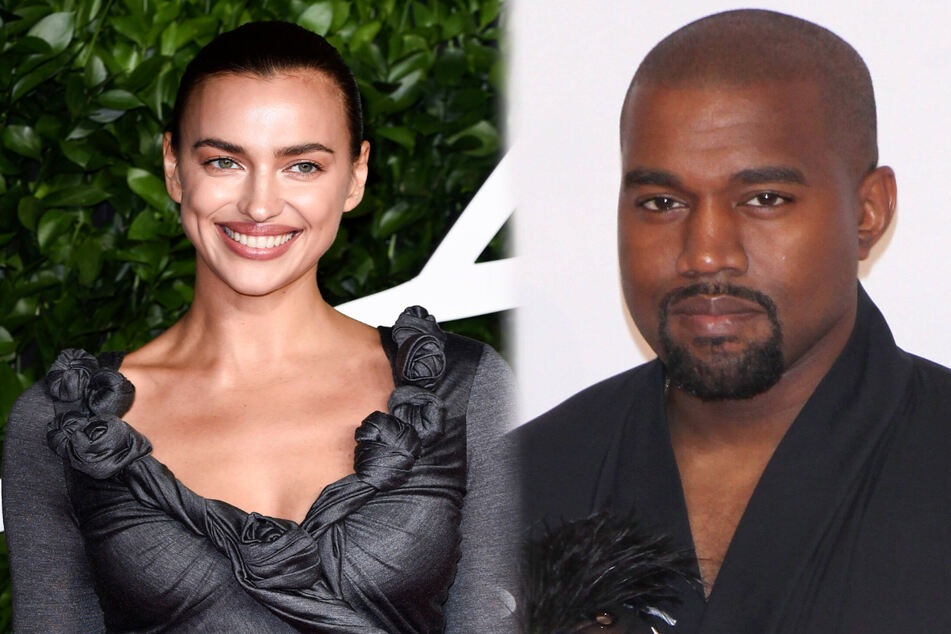 """Kanye West spotted on a European getaway with new """"smitten"""" model boo to celebrate his birthday!"""