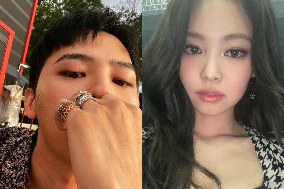 Blackpink's Jennie Kim (r.) and BIGBANG's G-Dragon (l.) have reportedly been secretly dating for a year.