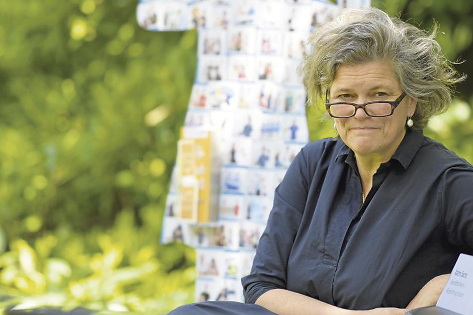 """Bürgerstiftungs-Chefin Katrin Sachs (53) lädt zur """"Blasewitzer Kaffeetafel"""". (Archivbild)"""
