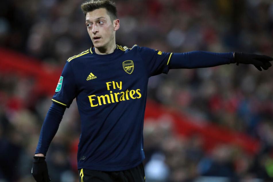 Sorgte mit seinem Tweet in China für Unverständnis: Mesut Özil.