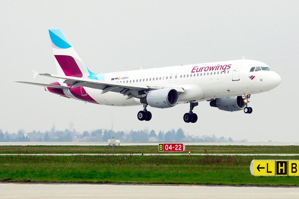 Premieren-Flug! Erster Eurowings-Flieger nach Mallorca hebt ab