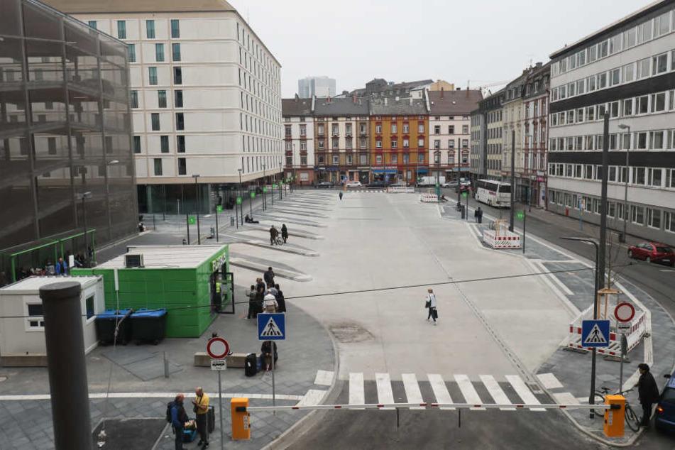 So sieht der Fernbusbahnhof jetzt aus.