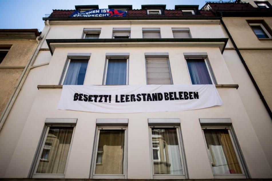 In dieses Gebäude in Heslach waren die Menschen eingezogen.