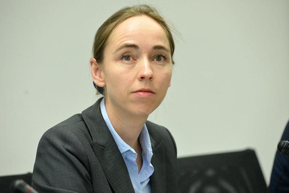 Sozialbürgermeisterin Kristin Kaufmann (40, Die Linke) sorgt sich um die  Dresdner Tafel.
