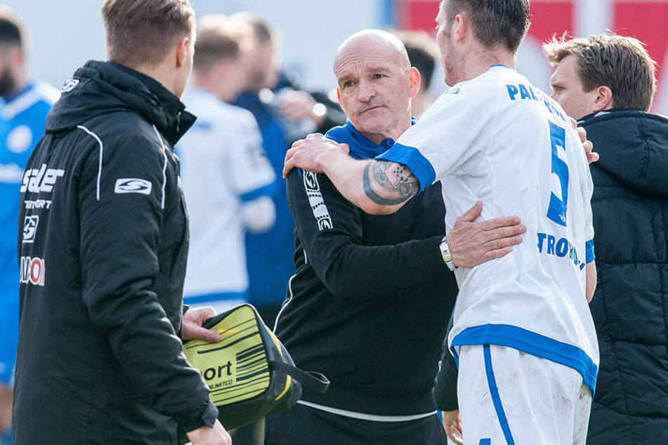 Stefan Emmerling will mit seinem Team die gute Leistung von Rostock erneut zeigen.