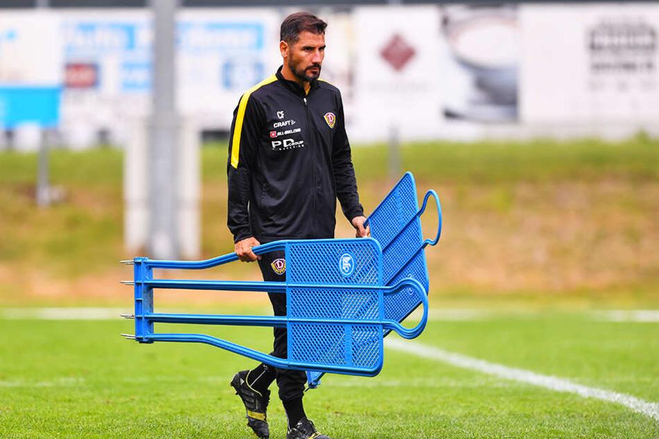 Coach Cristian Fiel hat seine Jungs im Camp körperlich top in Schuss gebracht, mental aber teilweise überfordert.