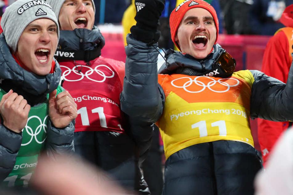 Das deutsche Team konnte sich bei den Olympischen Spielen Silber sichern. (Archivbild)