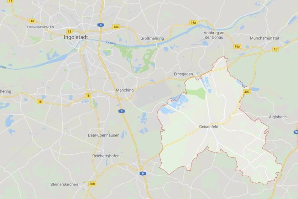 """In der bayerischen Asylbewerberunterkunft """"Patriotstellung"""" im Geisenfelder Feilenmoos hat es gebrannt."""
