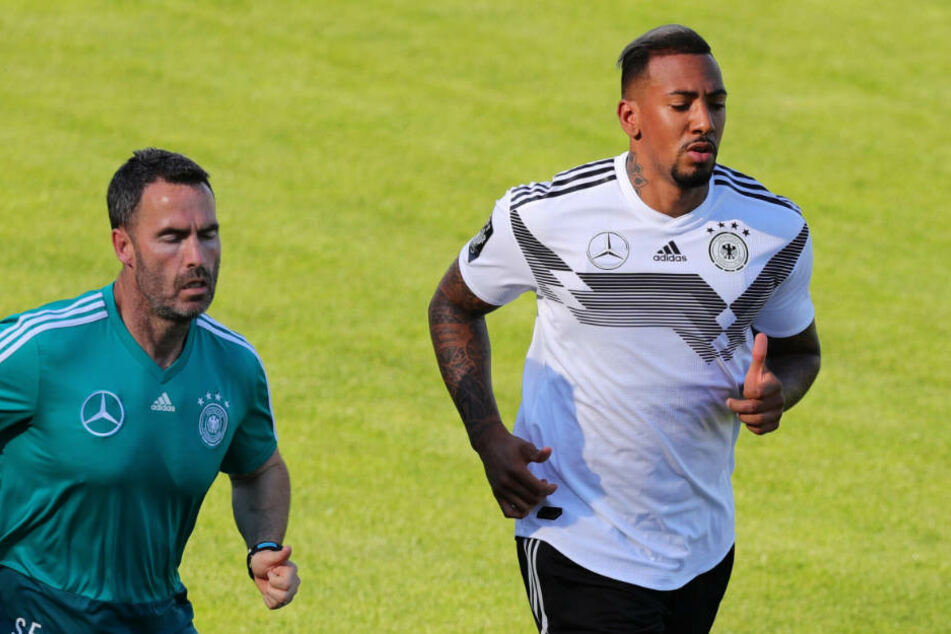 Jerome Boateng bereitet sich im DFB-Trainingslager auf die WM in Russland vor.