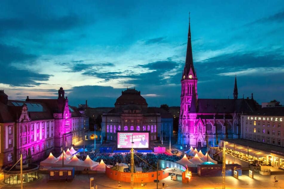 Die Chemnitzer Filmnächte finden im nächsten Jahr zum zehnten Mal statt.