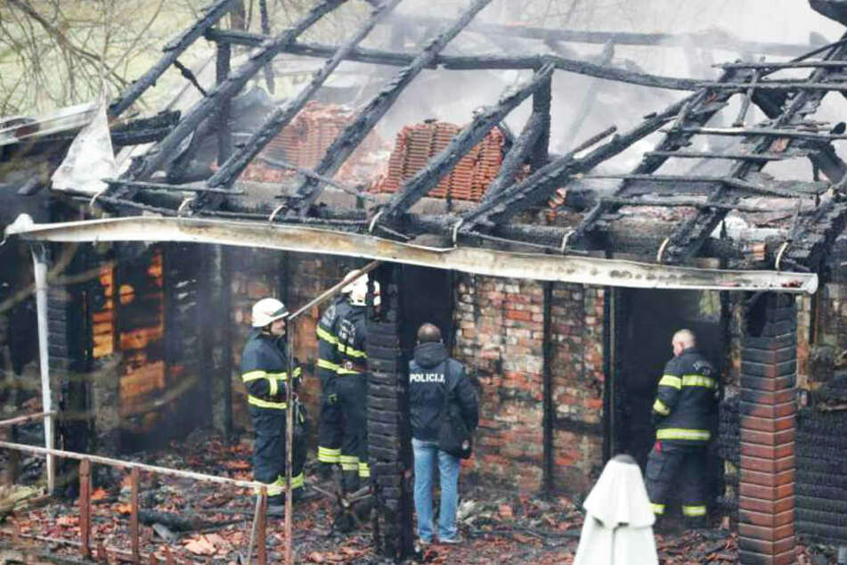 Altenheim brennt komplett nieder: Sechs Tote in Kroatien!