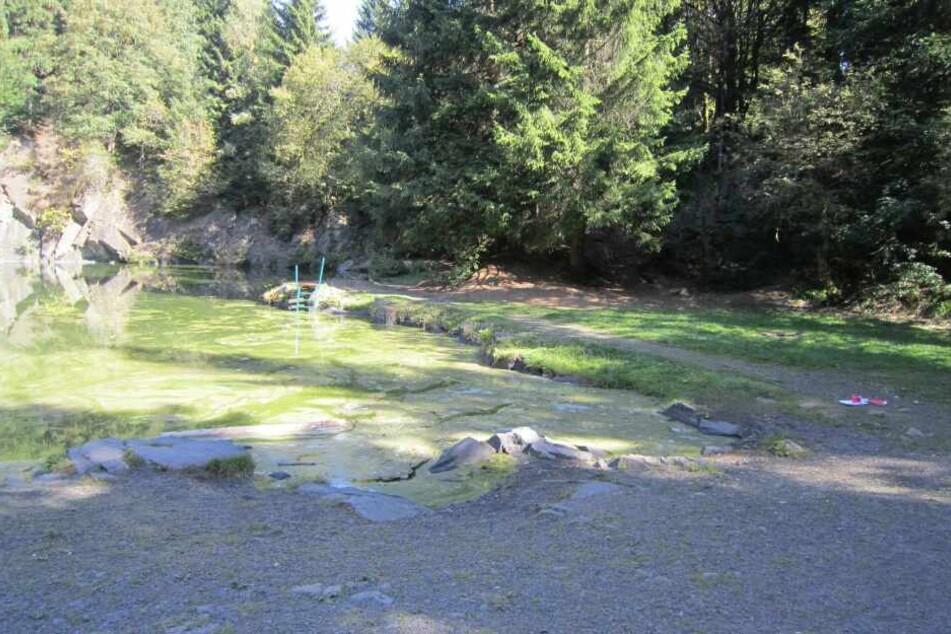 Täter kippen literweise Öl in Bergsee und versuchen, ihn anzuzünden