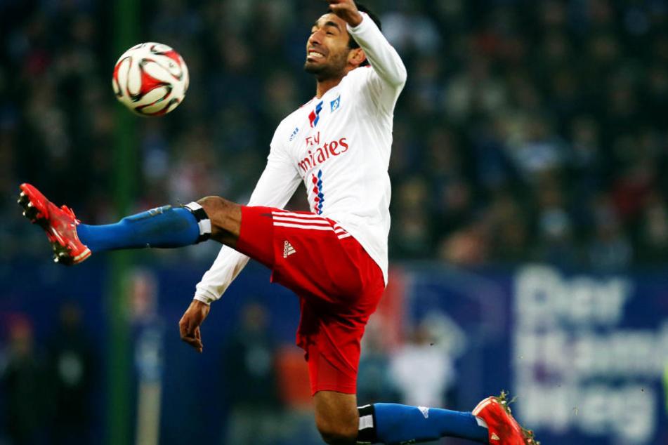 So spektakulär wie auf diesem Bild? Mohamed Gouaida wird heute Abend für die U21 in Flensburg spielen.