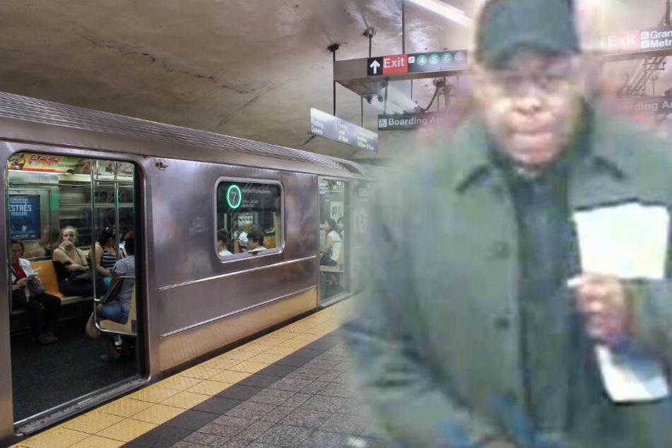 Pärchen vögelt in U-Bahn-Station: Dieser Lustmolch wird gesucht!