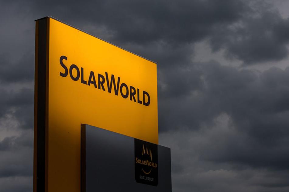 Düstere Wolken am Himmel? Kein gutes Zeichen für eine Solarfabrik...