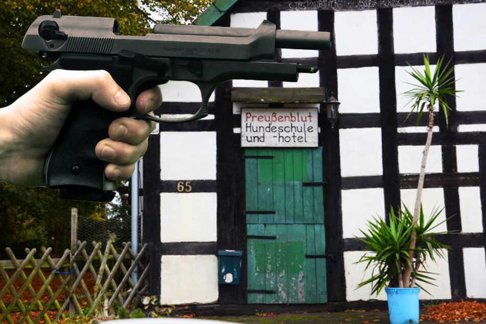 Mutmaßlicher Reichsbürger will Waffen nicht abgeben