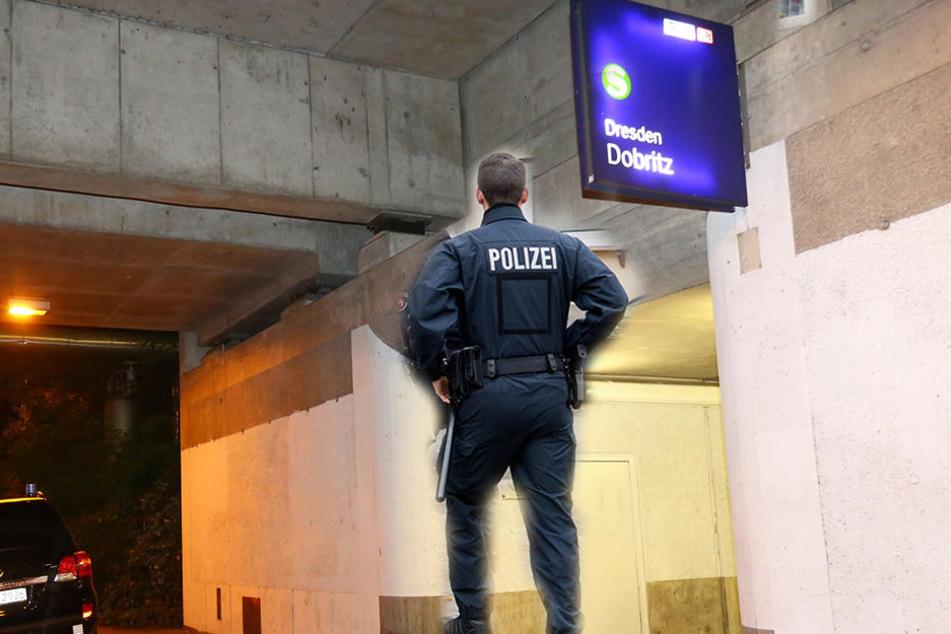Am Haltepunkt in Dresden-Dobritz wurde ein 29 Jahre alter Mann attackiert (Symbolbild).