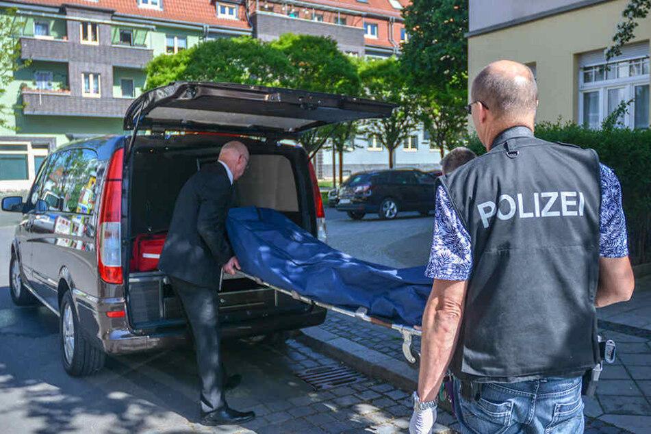 Feuerwehr findet Leiche in Erfurter Wohnung