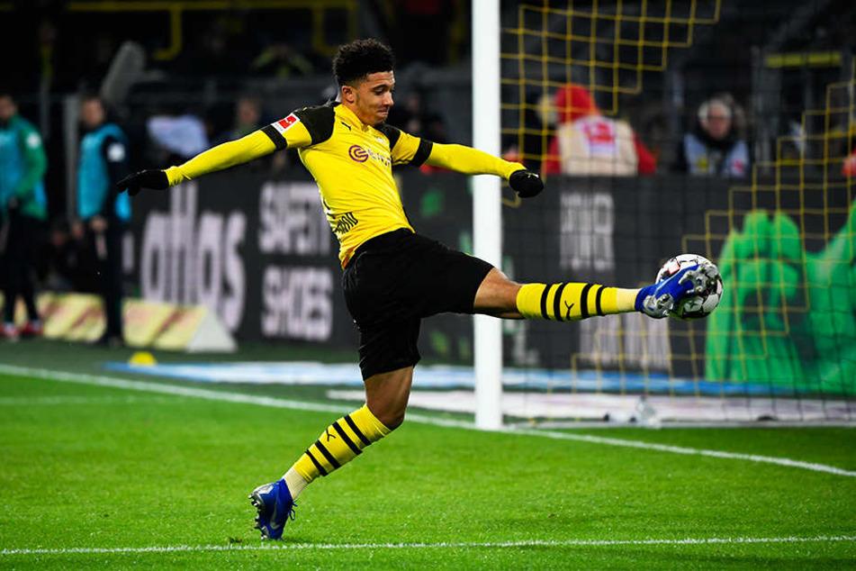 Vergab für den BVB mehrfach die Entscheidung: Jadon Sancho.