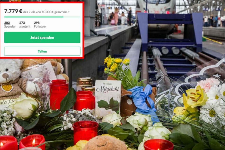 ICE-Drama von Frankfurt: Mann startet Spenden-Kampagne für Familie des getöteten Jungen (8)