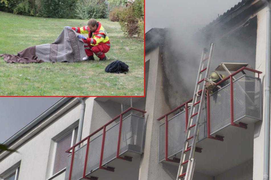 Tödlicher Brandanschlag: Neue Details zur schrecklichen Tat!