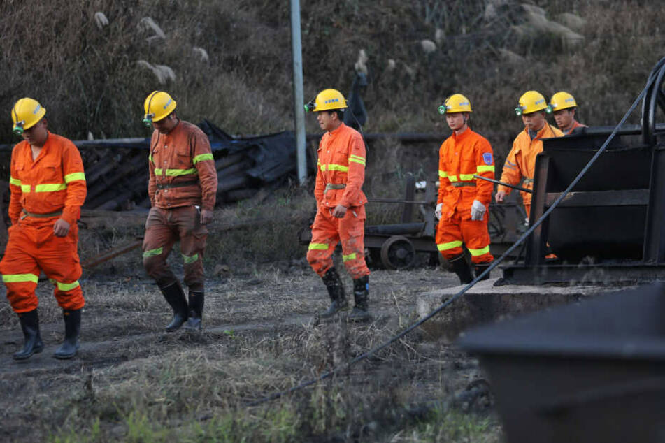 Nachdem tags zuvor bereits 14 Bergleute ganz in der Nähe der Unglücksstelle starben, nun das nächste Unglück.
