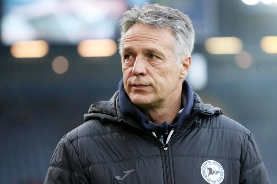 Trainer Uwe Neuhaus will die Zuschauer zufrieden nach Hause schicken.
