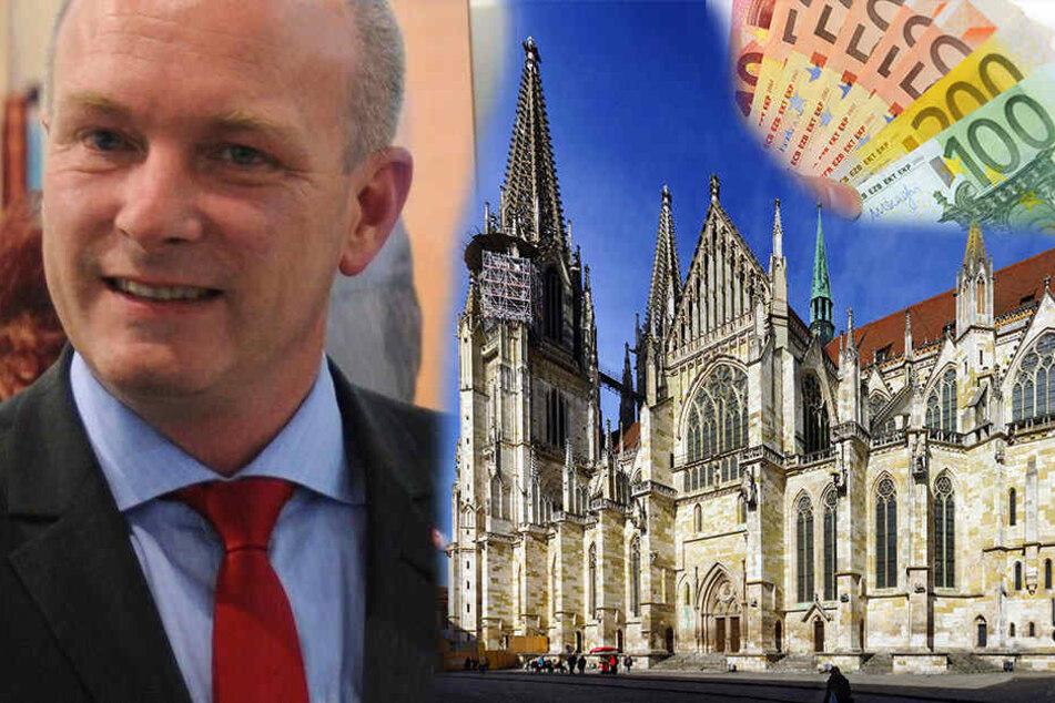 Der Regensburger Oberbürgermeister Joachim Wolbergs (45, SPD).