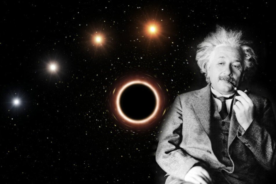 Einsteins Relativitätstheorie konnte durch die Messungen in der Milchstraße bestätigt werden.