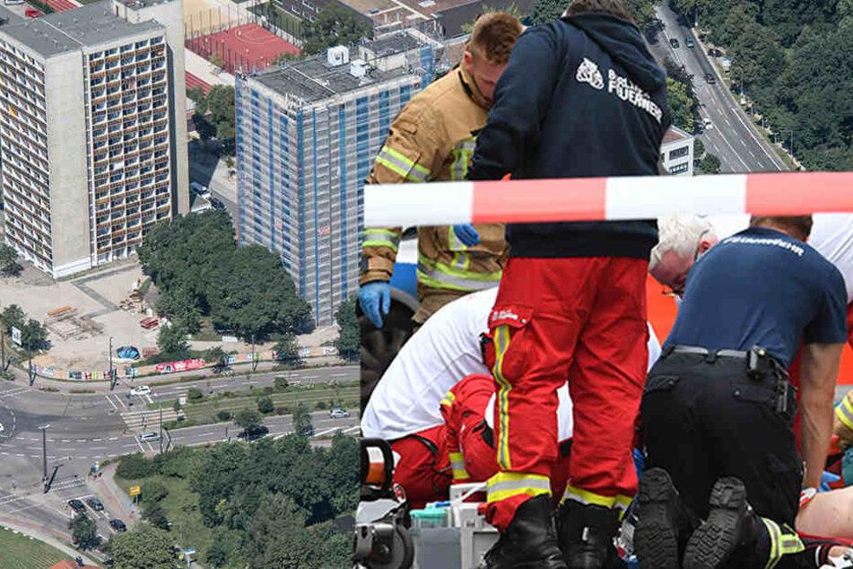 Am Lennéplatz wurde ein verletzter Mann gefunden. (Symbolbild)
