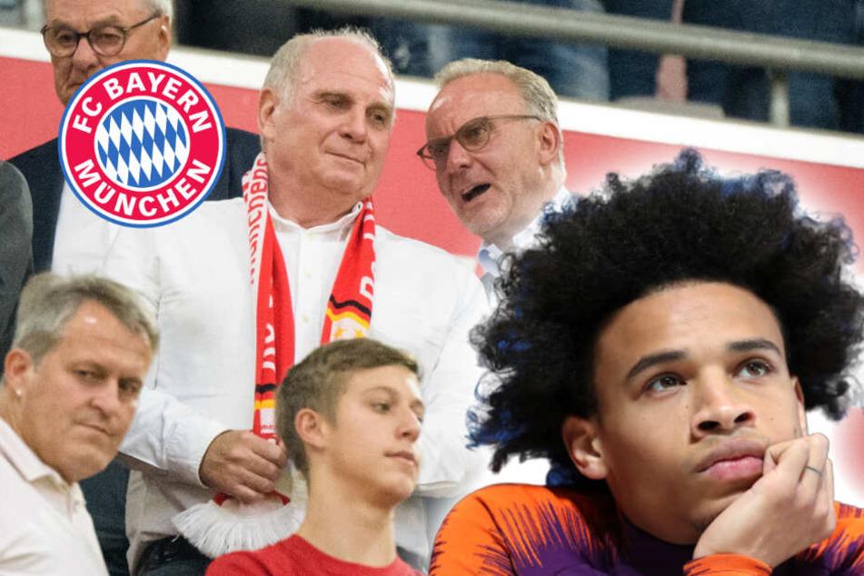 Bayern-Wunschspieler Sané freut sich über tolle Aktion seiner Mitspieler