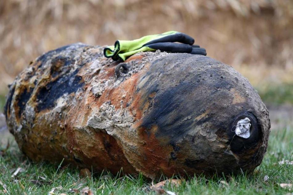 Die Bombe soll an diesem Samstag entschärft werden. (Symbolbild)
