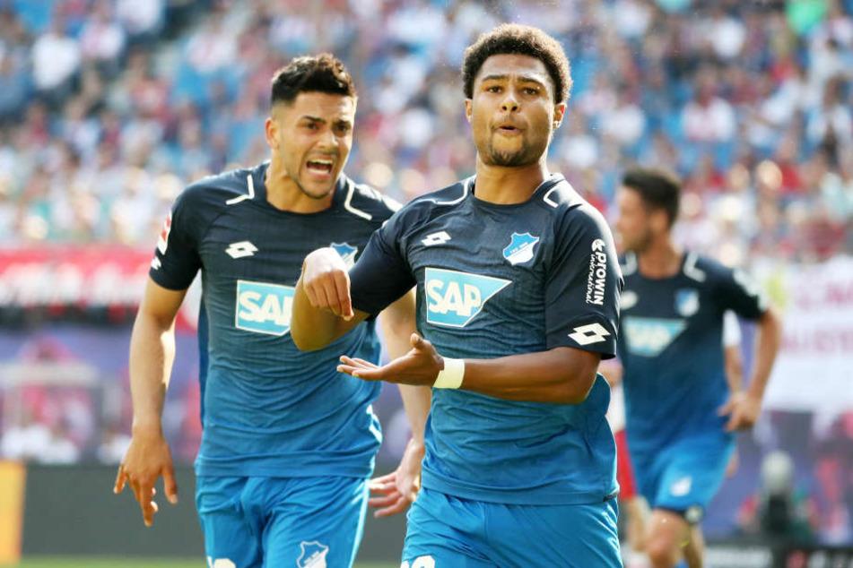 Eins, zwei, drei: Hoffenheim um Nadiem Amiri (l.) und Serge Gnabry machten schon in der ersten Halbzeit alles klar.