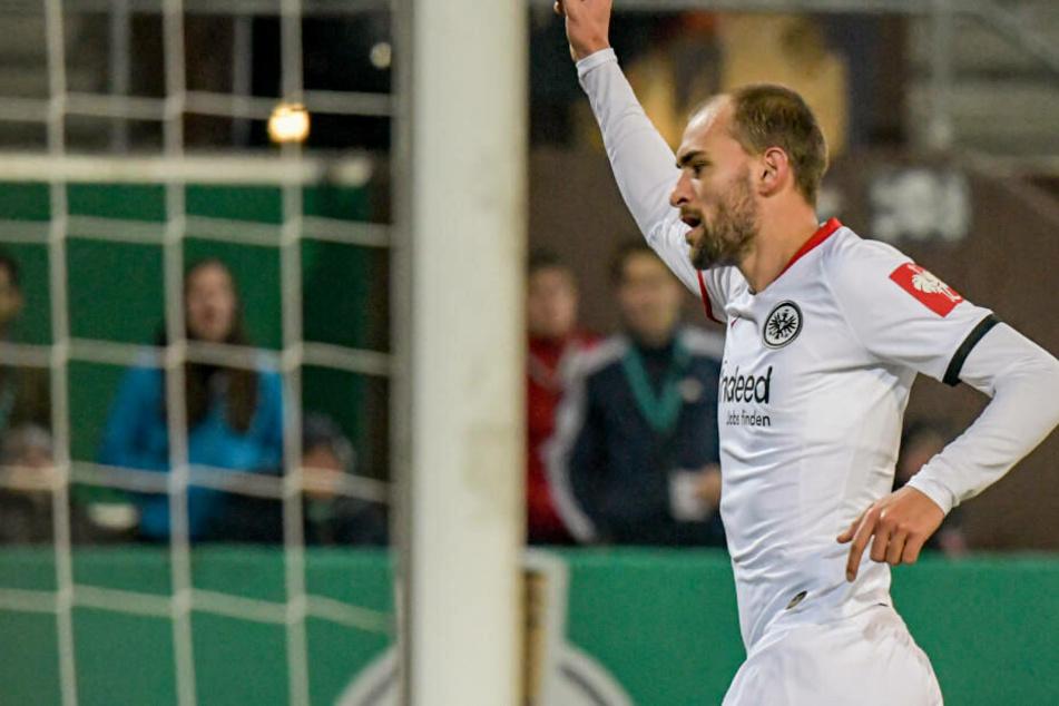 In der Bundesliga schoss Bas Dost in sieben Einsätzen bereits drei Tore für die Eintracht.