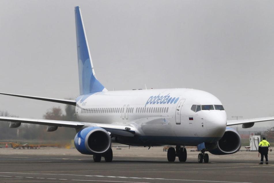 Ein Flugzeug der russischen Fluggesellschaft Pobeda. (Archiv)
